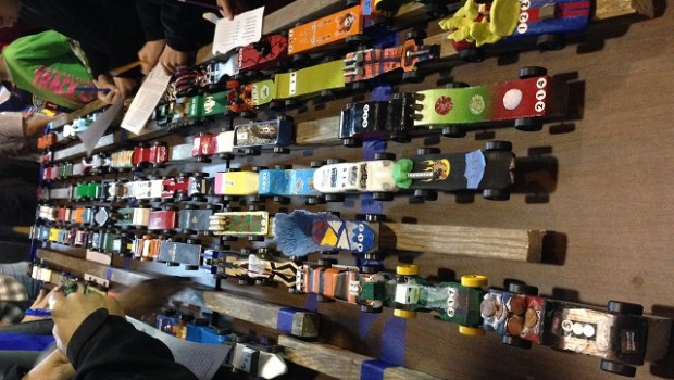 A user-submitted photo from a Pinewood Derby held at First United Methodist Church of Decatur this past weekend. See this photo and more on Friday when we unveil our Friday Photo Roundup.