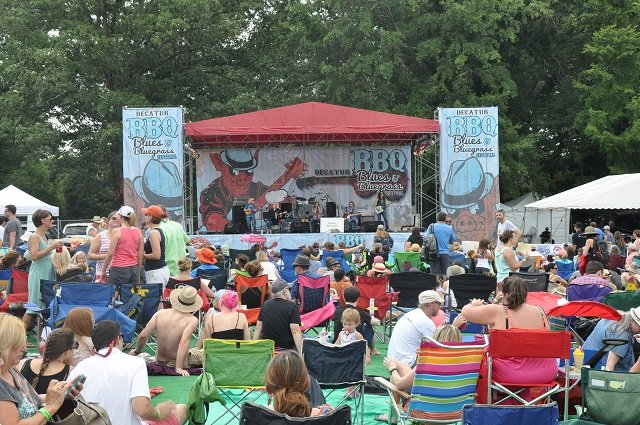 File photo of 2014 BBQ, Blues and Bluegrass Festival. Photo by Dan Whisenhunt