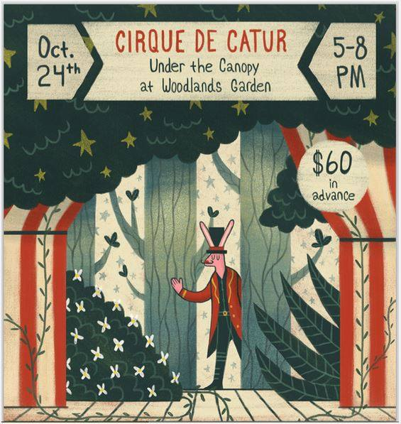 Woodlands Garden of Decatur is hosting a vintage circus fundraiser on October 24.