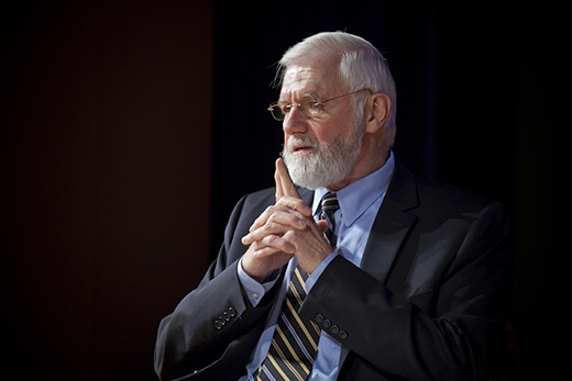 William Foege will deliver Emory University's commencement address on May 9. Photo from Emory University