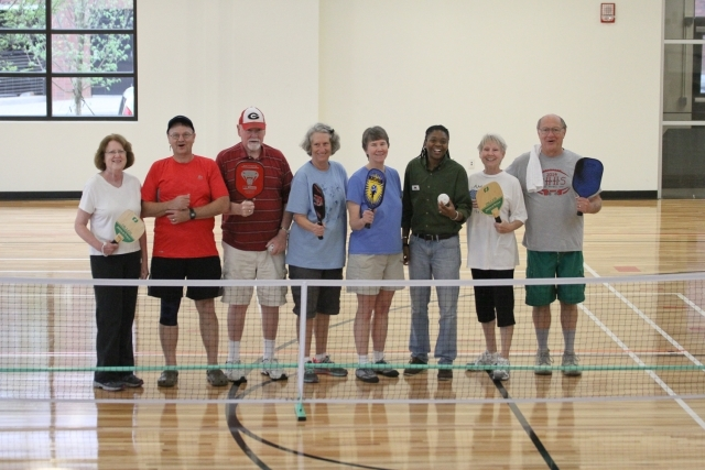 Pickleball players in Decatur. Photo courtesy of Decatur Active Living/Travis Hudgons