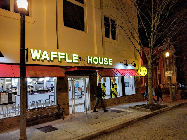 The Decatur Waffle House. Photo by Dan Whisenhunt