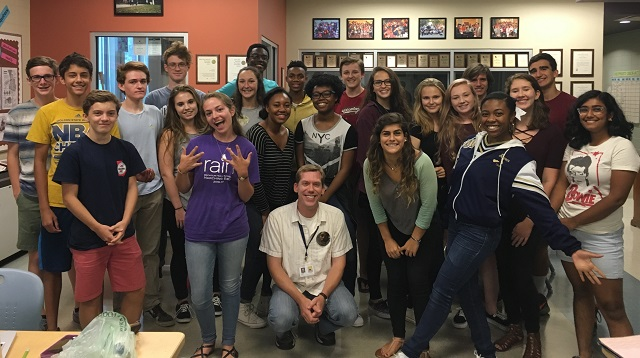 Students in Decatur High School's convergence media program produce a magazine, video show and website. They have recently been honored nationally by Quill and Scroll and the National Scholastic Press Association. Credit: Contributed