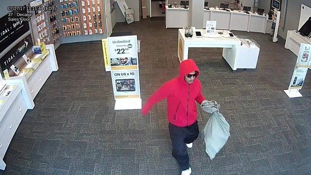 Sprint store in Decatur robbed